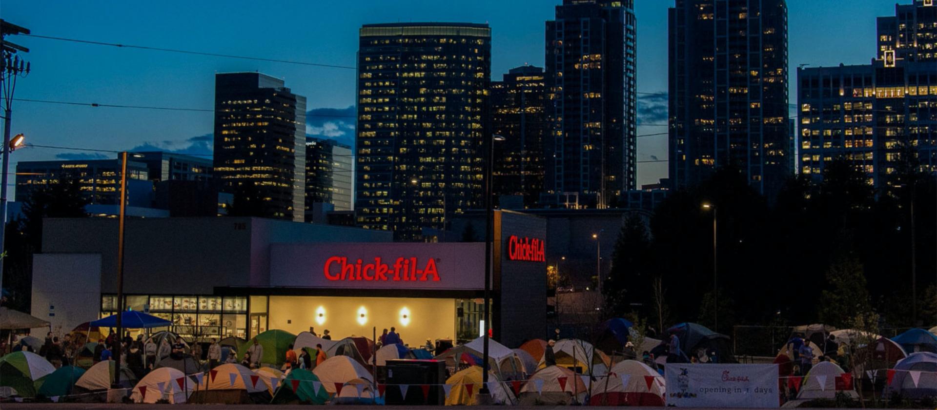 アメリカで安くて美味しいファーストフードを食べるならChick-fil-A(チックフィレ)!