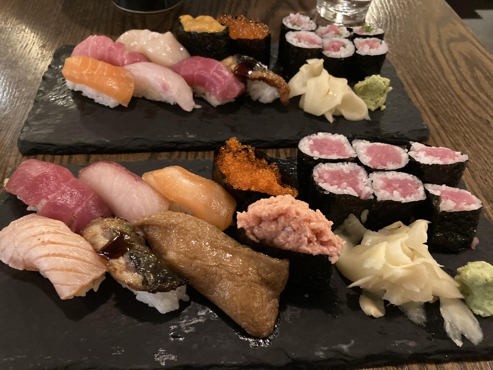 ニューヨーク和食レストラン「つるとんたん」のうどんより寿司がうまい!