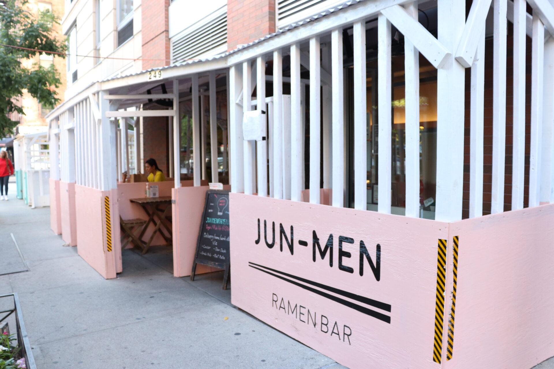 ハドソンヤードのおすすめラーメン店『JUN-MEN RAMEN BAR』